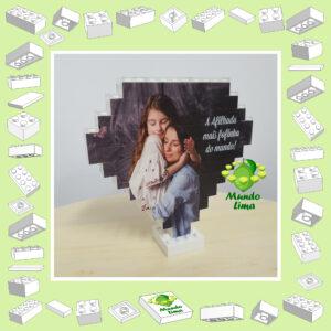 Puzzle em blocos diamante sem caixa